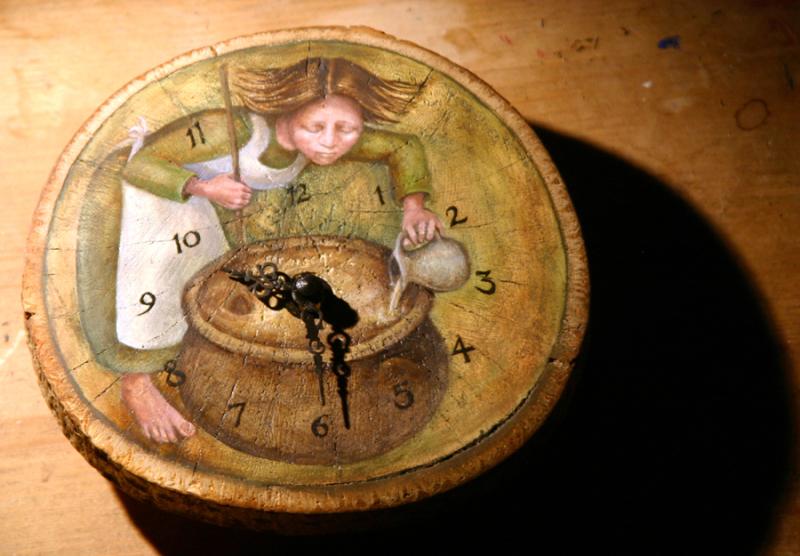 The Perfumier's Clock