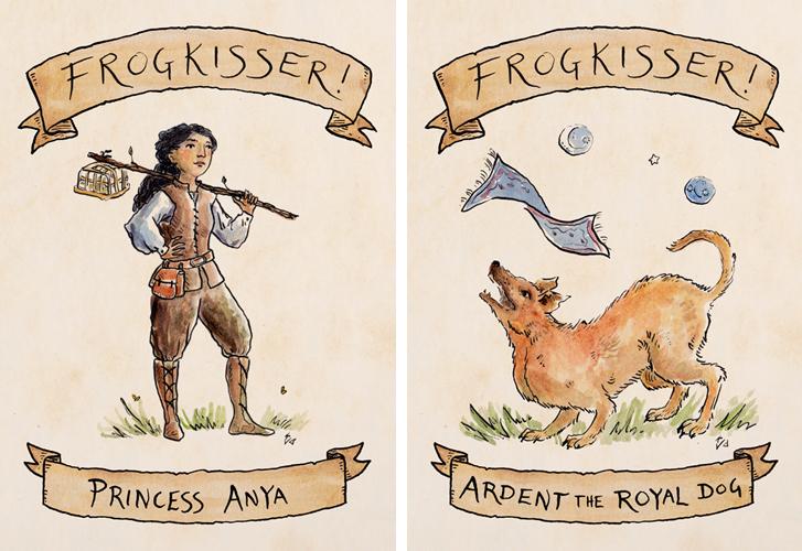 ''Frogkisser'' illustrations by Kathleen Jennings