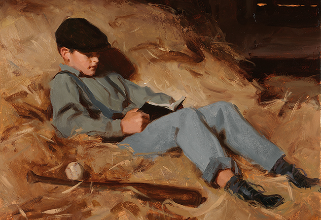 The Reading Boy by Joseph Fielding Smith