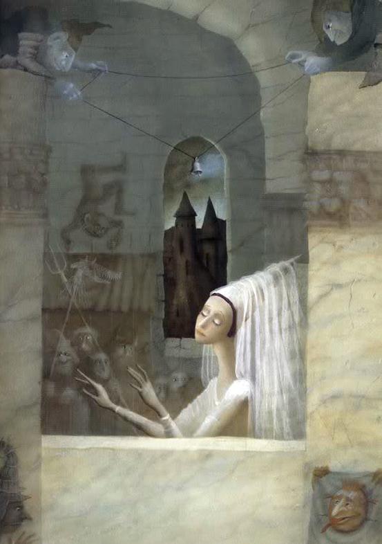 Brigitte Schar's The Blind Fairy illustrated by Julia Gukova