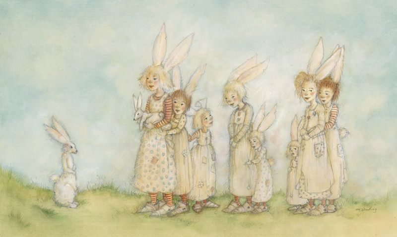 Bunny Troupe by Terri Windling