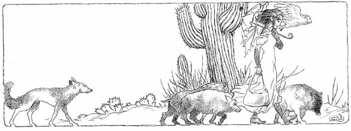 Illustration by Charles Vess