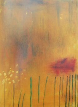 Lady in an Unsprayed Field Seen in Passing by Mary Newcomb