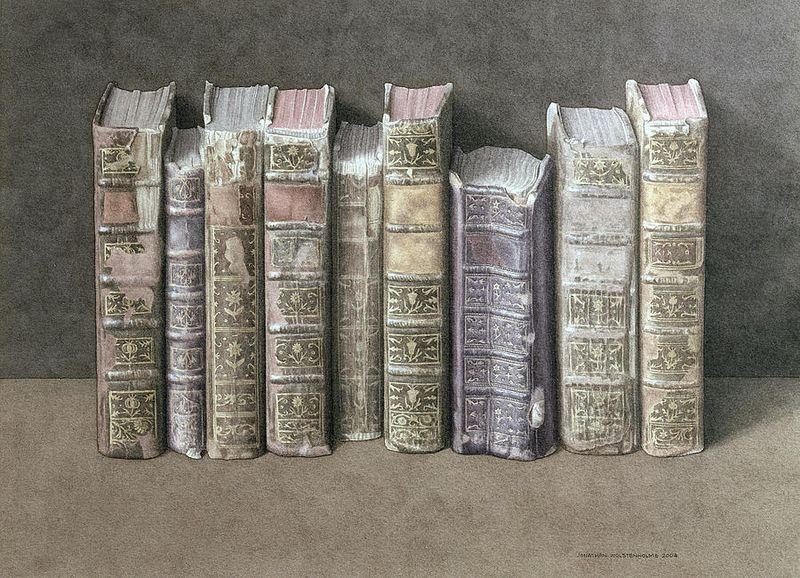 A Fine Library by Jonathan Wolstenholme