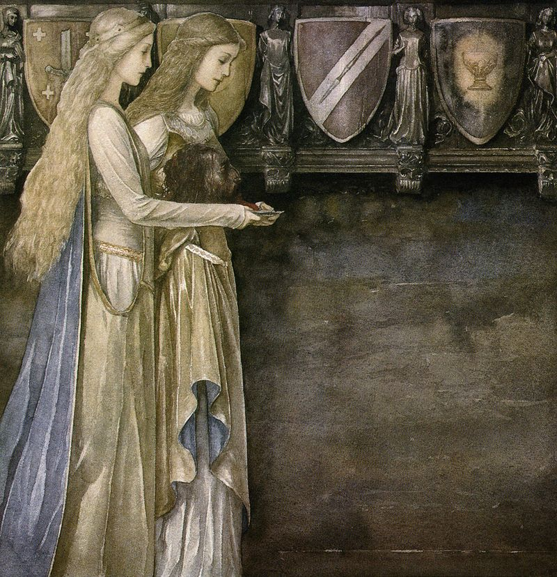 The Mabinogion illustrated by Alan Lee
