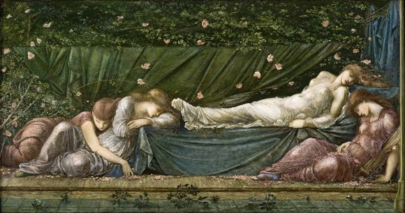 Study for ''The Legend of Briar Rose'' by Sir Edward Burne-Jones