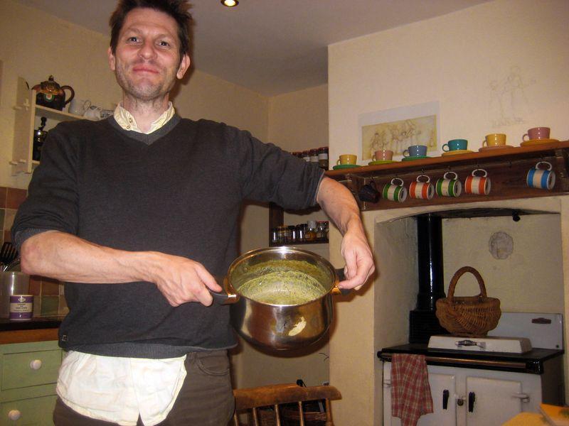 Nettle soup.