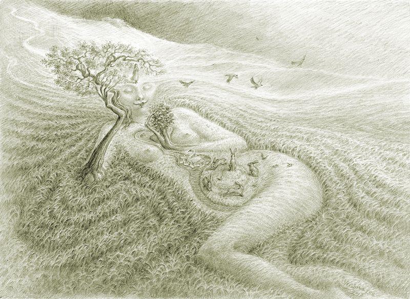 Moor Maiden by Virginia Lee