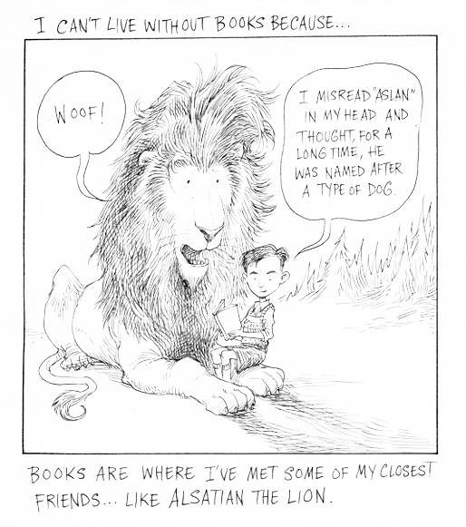 Cartoon by Chris Riddell