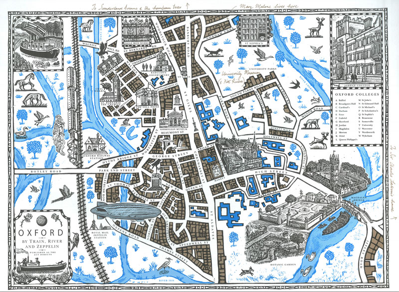 Philip Pullman's Alternate Oxford