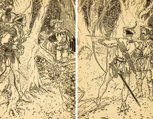 The Robin Hood Ballads by George Wharton Edwards