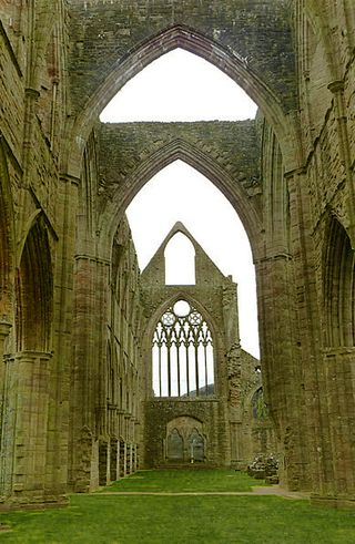 Tintern Abbey by Chriss Gunns