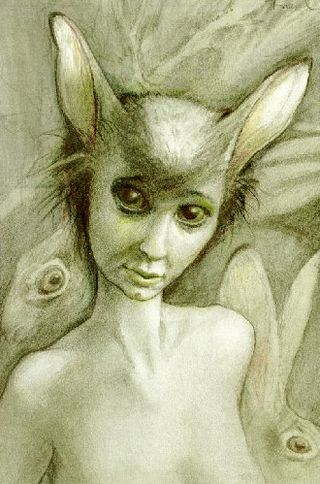 Fairy hare by Brian Froud