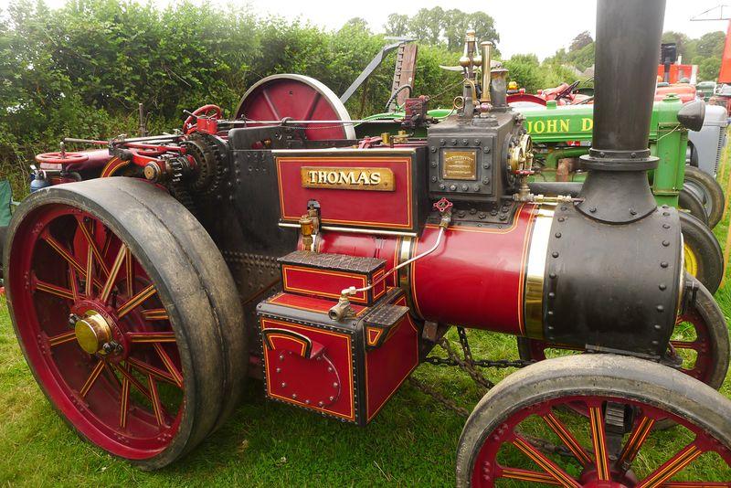 Steam-driven tractor