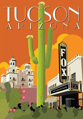 Tucson postcard