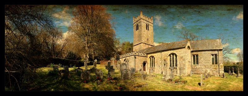 Gidleigh Church, Gidleigh, Devon by Stu Jenks