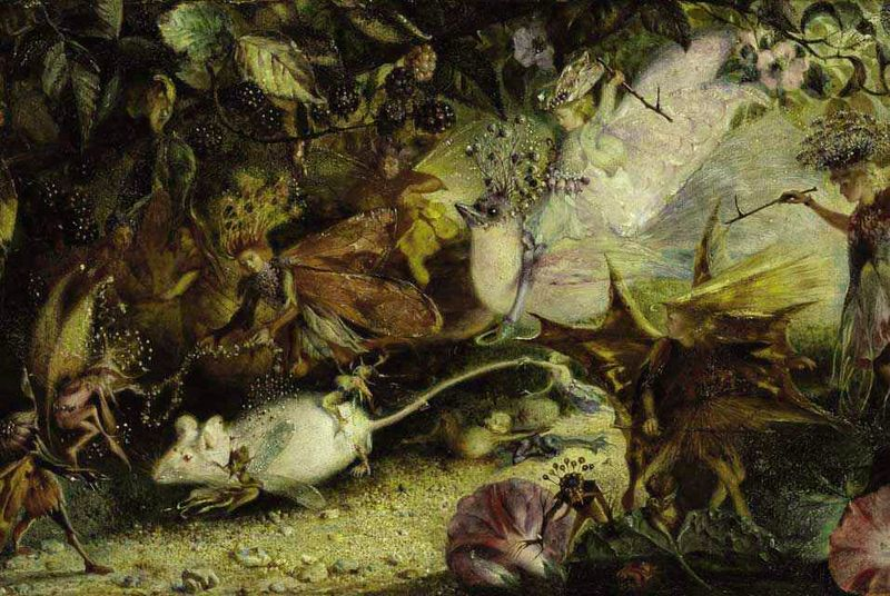 In the Land of the Fairies by John Anster Fitzgerald