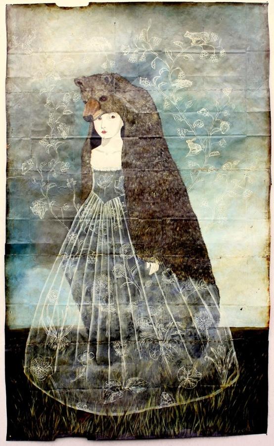 Bear Girl by Anne Siems