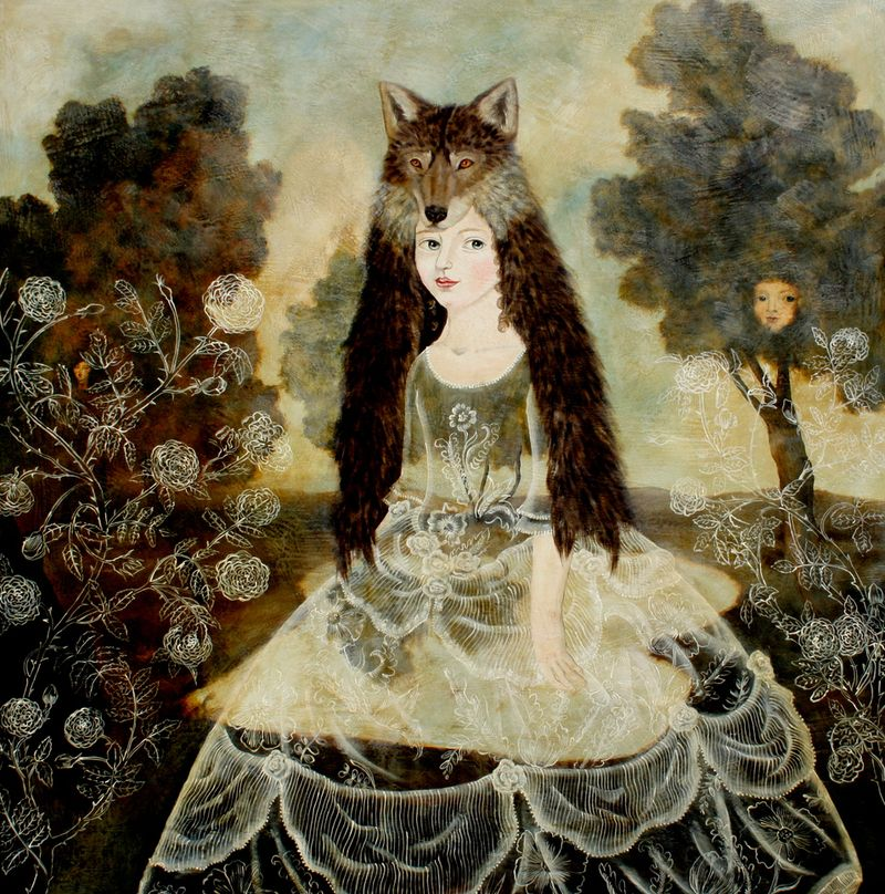 Wolf Girl by Anna Siems