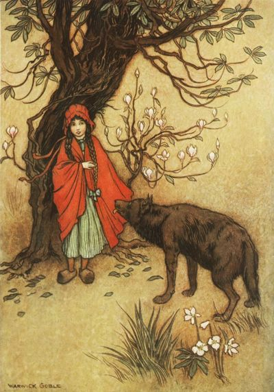 Little Red Riding Hood by Warwick Goble