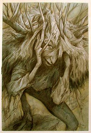 Woodling by Brian Froud