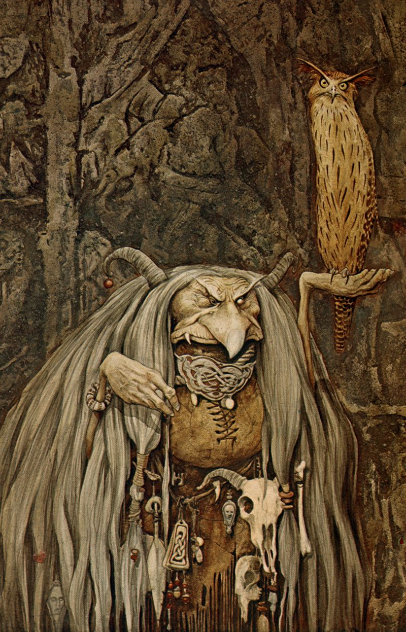 Troll Witch by Brian Froud