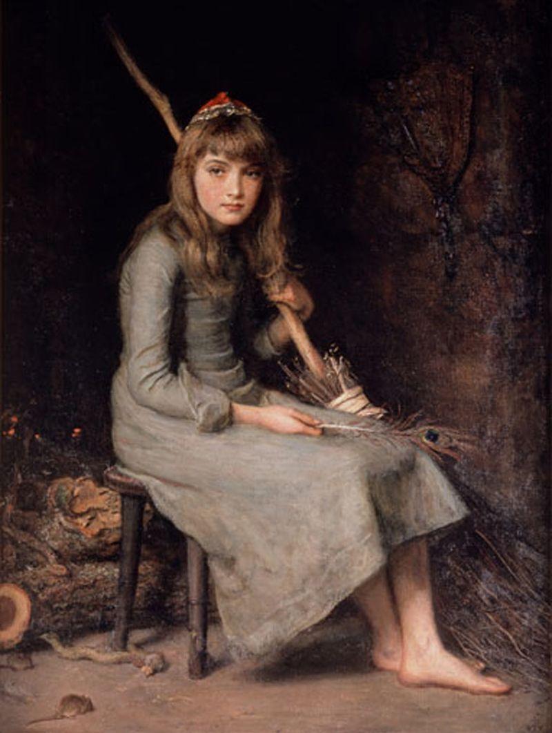 Cinderella by John Millais