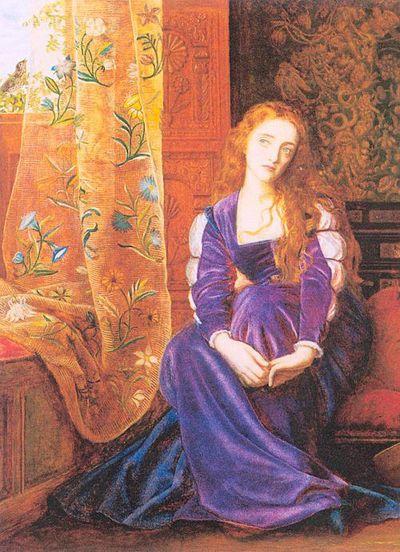 Rapunzel by Arthur Hughes