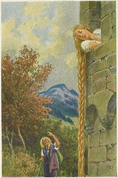 Rapunzel by Paul Hey