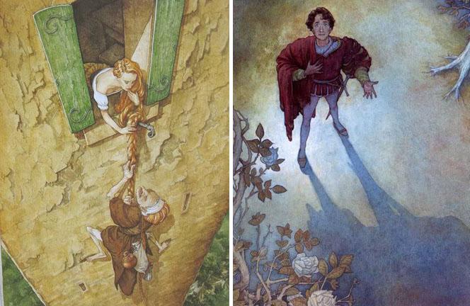 Rapunzel by P.J. Lynch