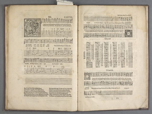 John Dowland 'First booke of songes or ayres' London, 1603
