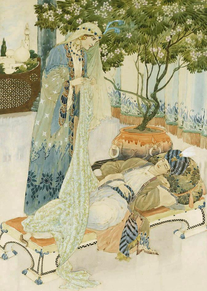 The Arabian Nights illustrated by Charles Folkard