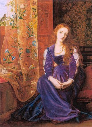 The Pained Heart by Arthur Hughes