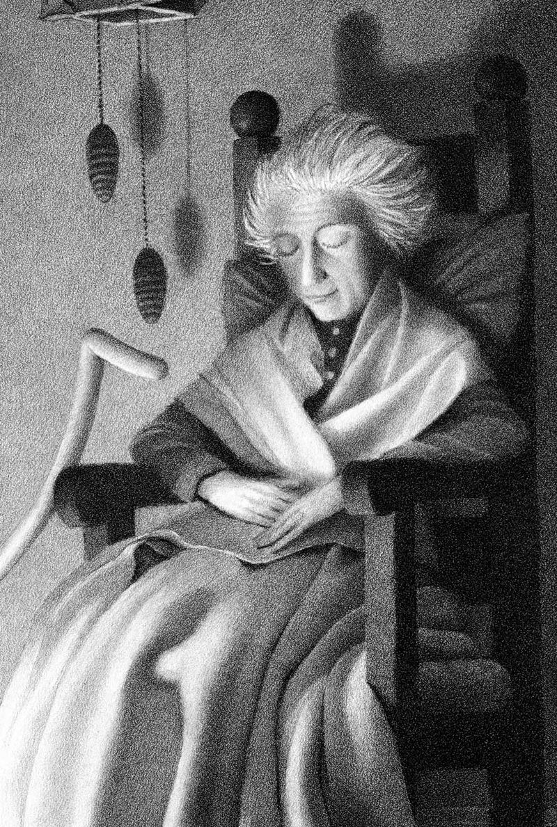 The Widows Broom by Chris Van Allsburg