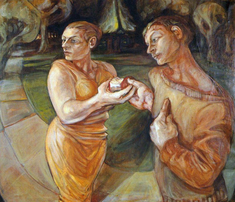 Paradise Now (Adam & Eve) by Jacqueline Morreau