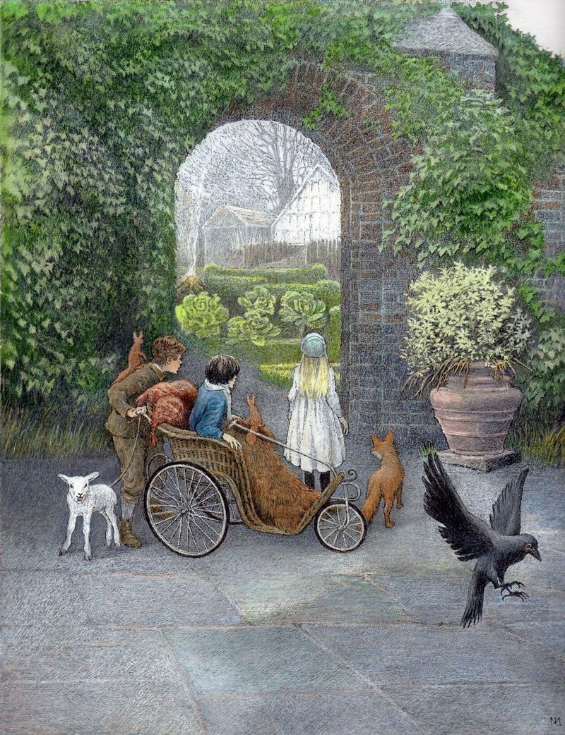 Frances Hodgson Burnett's The Secret Garden, illustrated by Inga Moore