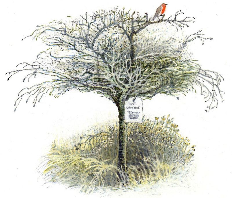 From The Secret Garden illustrated by Inga Moore
