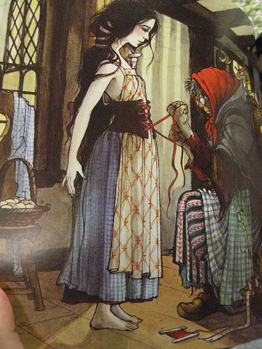 Snow White and the corset by Trina Schart Hyman
