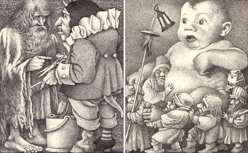 Bearskin & The Goblins by Maurice Sendak