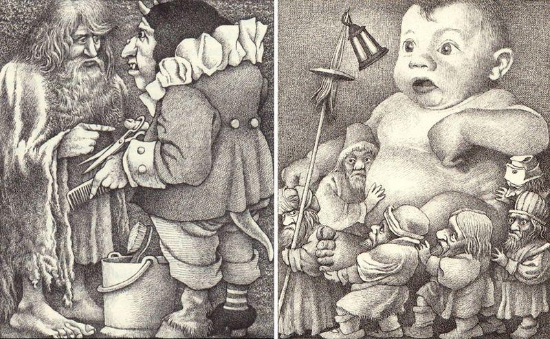 Bearskin & The Goblins by Maurice Sendak