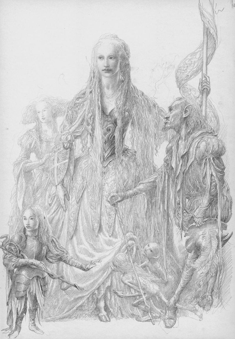 The Fairy Queen by Alan Lee