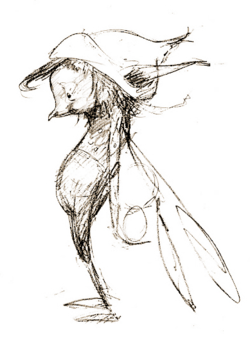 Small pixie by Brian Froud