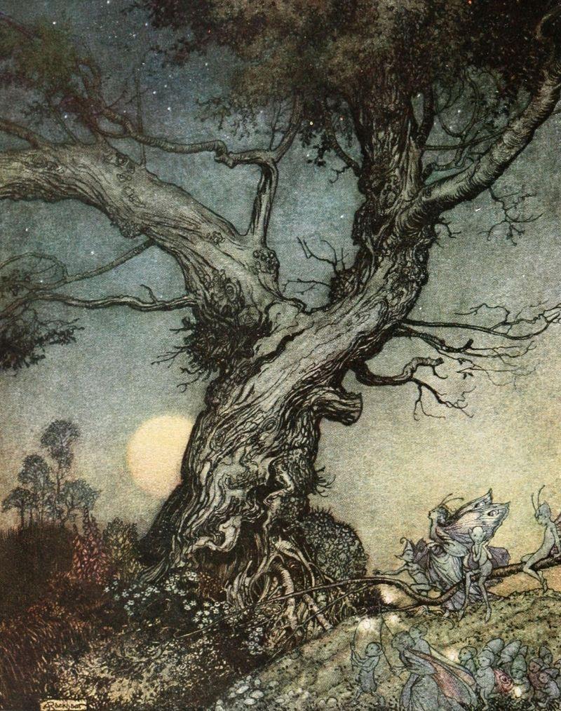 Faerie Folk by Arthur Rackham