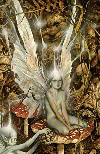 Fairy children by Brian Froud