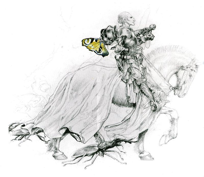 Faery Knight by Alan Lee