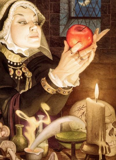 Snow White's Step-mother by Charles Santore