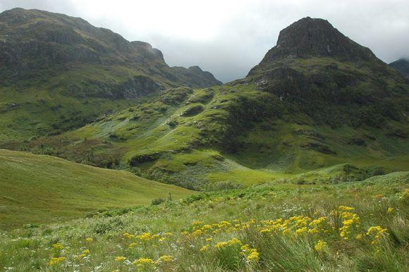 Glencoe Mountains, West Highlands