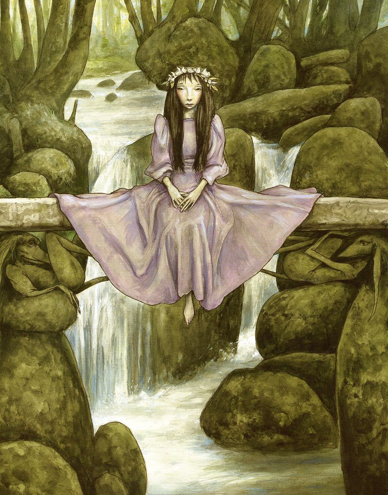 Troll Maiden by Brian Froud