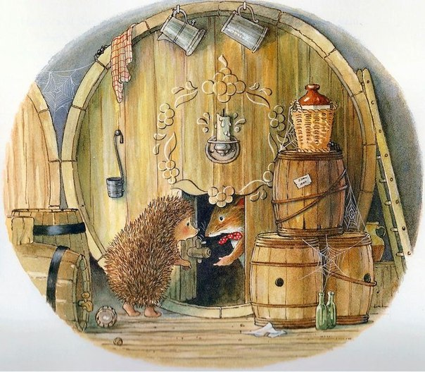 An illustration from Foxwood Tales by Brian Paterson
