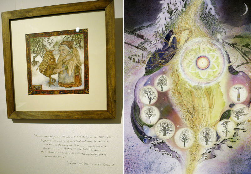 Baba Yaga by Rima Staines and Imbolc by Marja Lee